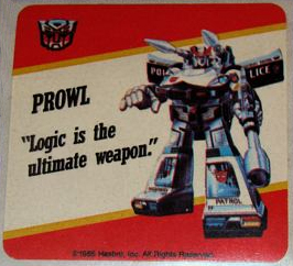 Prowl Sticker