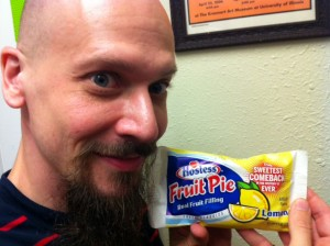 Brian John Mitchell & a fruit pie