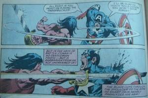 Conan versus Captain America